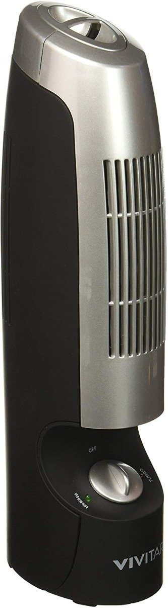 Vivitar Quiet Desktop Air Purifier and Ionizer Home Essentials - DailySale