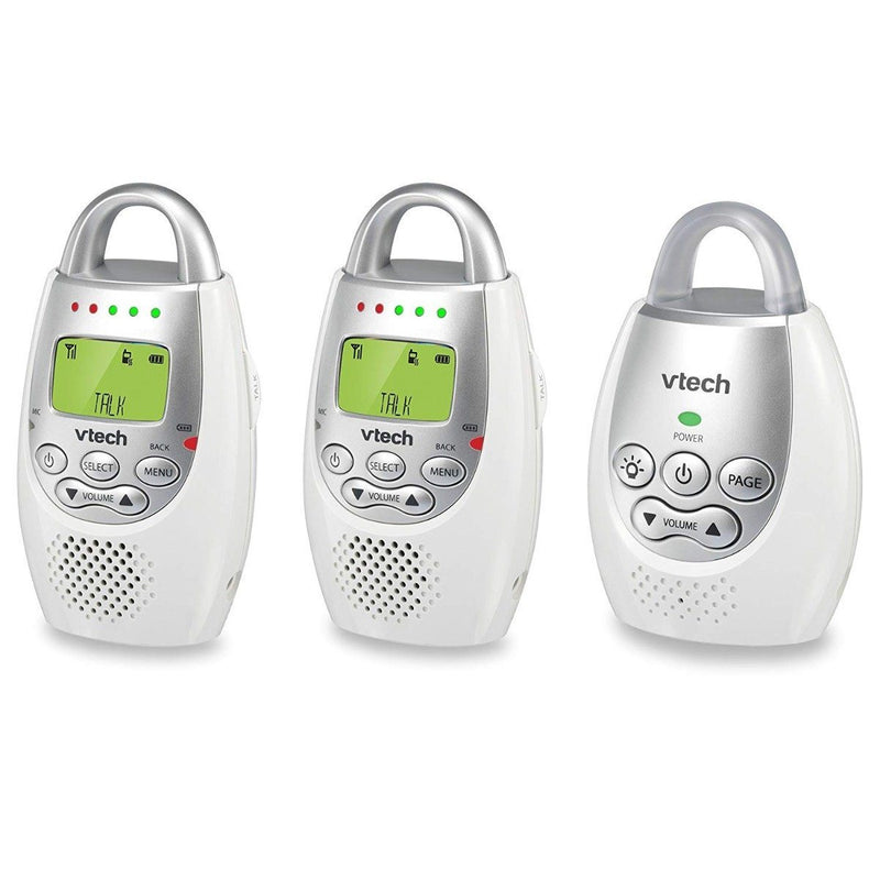 VTech BA72212GY Audio Baby Monitor with 2 Parent Units Gadgets & Accessories - DailySale
