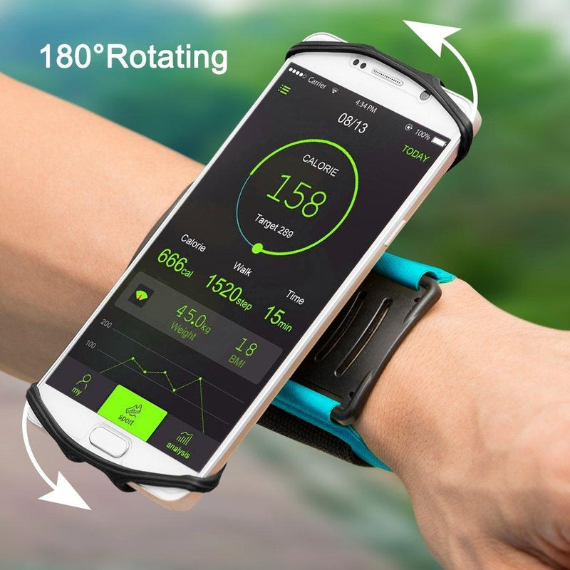VUP Wristband Phone Holder, 180° Rotatable - Assorted Colors Sports & Outdoors - DailySale