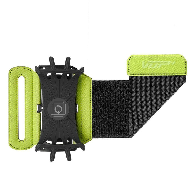 VUP Wristband Phone Holder, 180° Rotatable - Assorted Colors Sports & Outdoors Green - DailySale