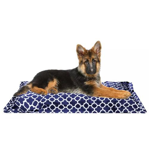 Wags 'N Whiskers Orthopedic Pet Bed Pillow - Assorted Styles Pet Supplies Blue - DailySale