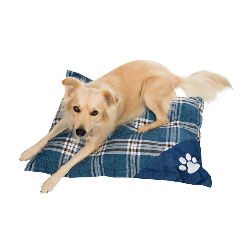 Wags 'N Whiskers Orthopedic Pet Bed Pillow - Assorted Styles Pet Supplies Denim - DailySale