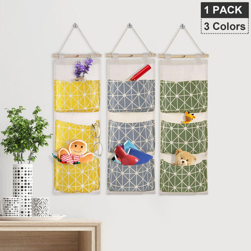 Wall Mounted Storage Bag Door Closet Closet & Storage - DailySale