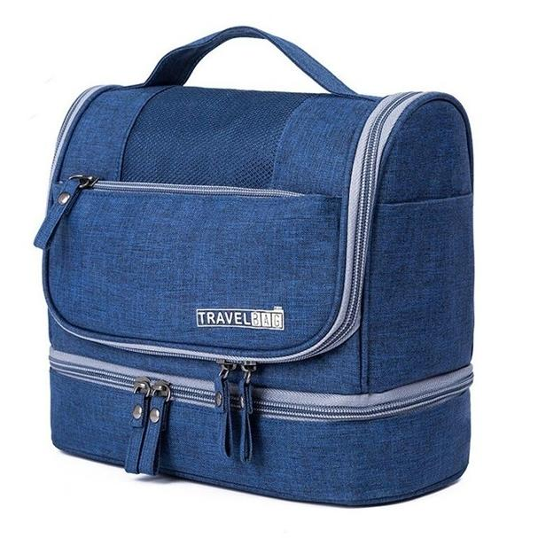 Waterproof Hanging Travel Toiletry Bag - Assorted Colors Beauty & Personal Care Blue - DailySale