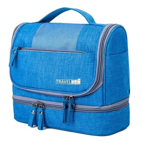 Waterproof Hanging Travel Toiletry Bag - Assorted Colors Beauty & Personal Care Sky Blue - DailySale