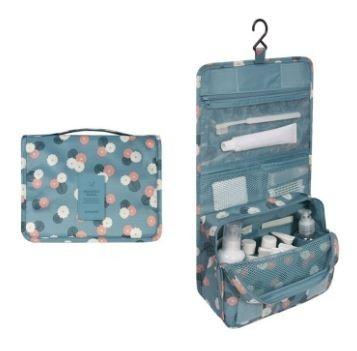 Waterproof Travel Toiletry Bag - Assorted Colors Beauty & Personal Care Blue Flower - DailySale