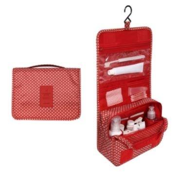 Waterproof Travel Toiletry Bag - Assorted Colors Beauty & Personal Care Red Shuriken - DailySale