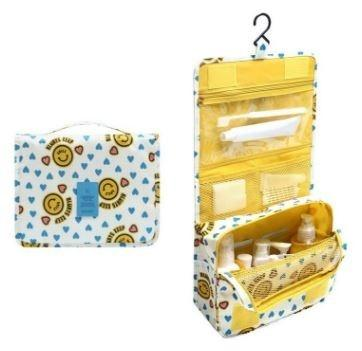 Waterproof Travel Toiletry Bag - Assorted Colors Beauty & Personal Care Yellow Smile - DailySale