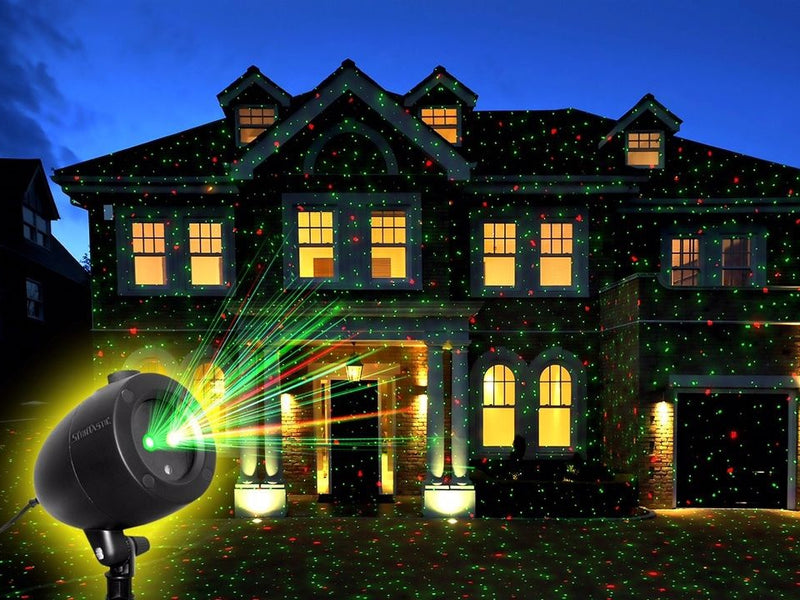 Startastic Holiday Laser Light Show, Static and Motion Features - DailySale, Inc