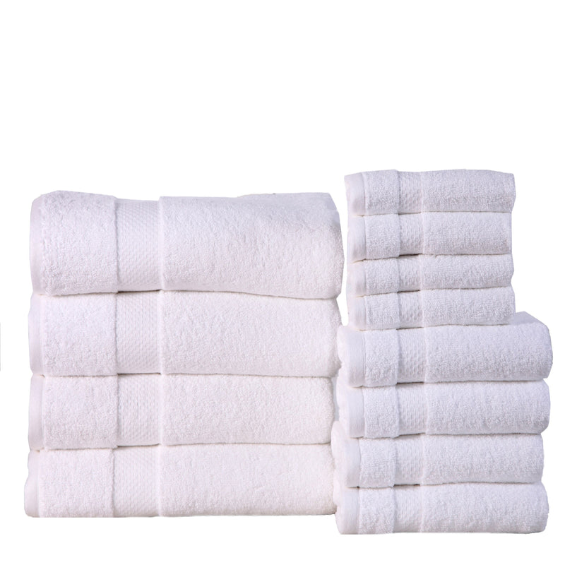 6-Pack: 100% Cotton Towel Set - Assorted Colors - DailySale, Inc