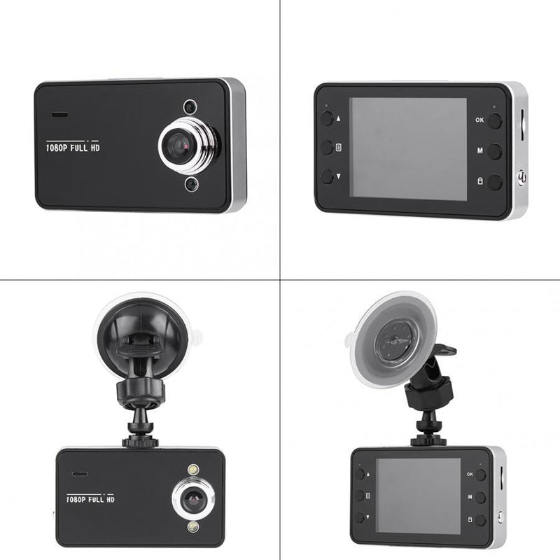Windshield-Mount 1080p Wide-Angle Video Recorder Auto Accessories - DailySale