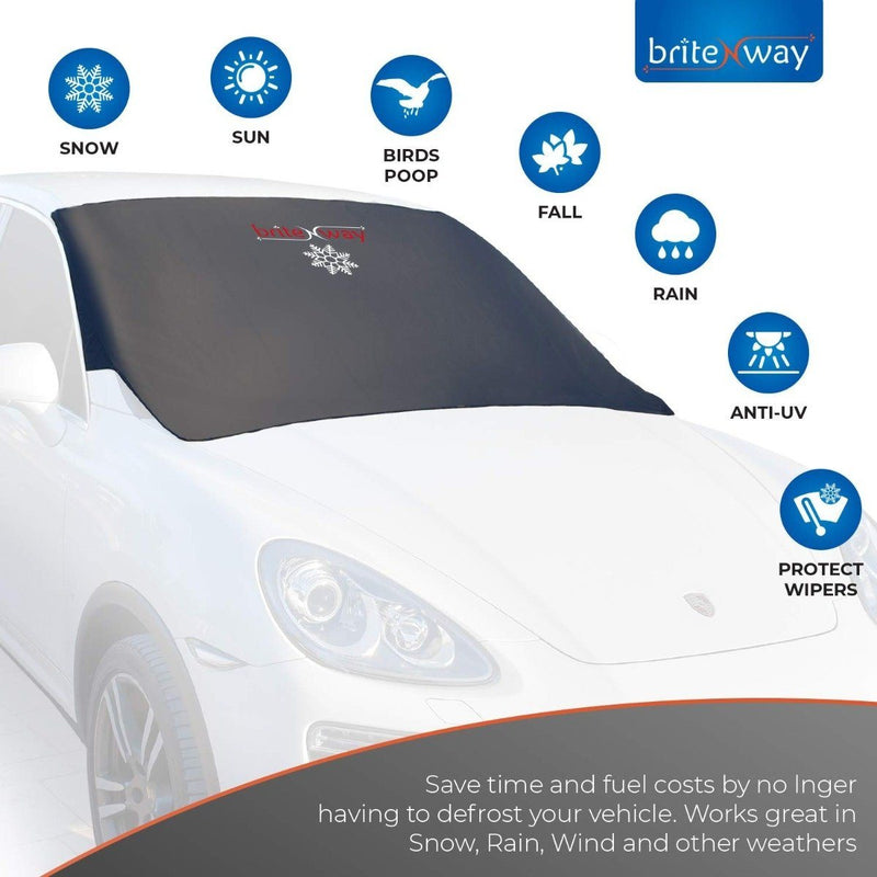 Windshield & Wiper Ice Protector with Free Mirror Covers Auto Accessories - DailySale