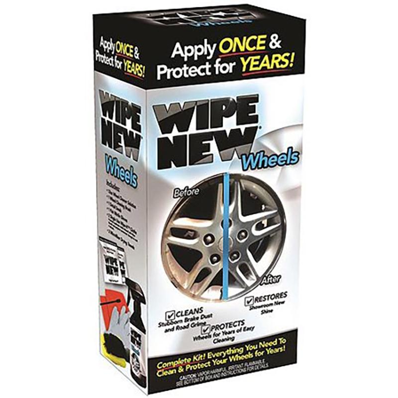 Wipe New Wheels Tire Restoration Kit Auto Accessories - DailySale