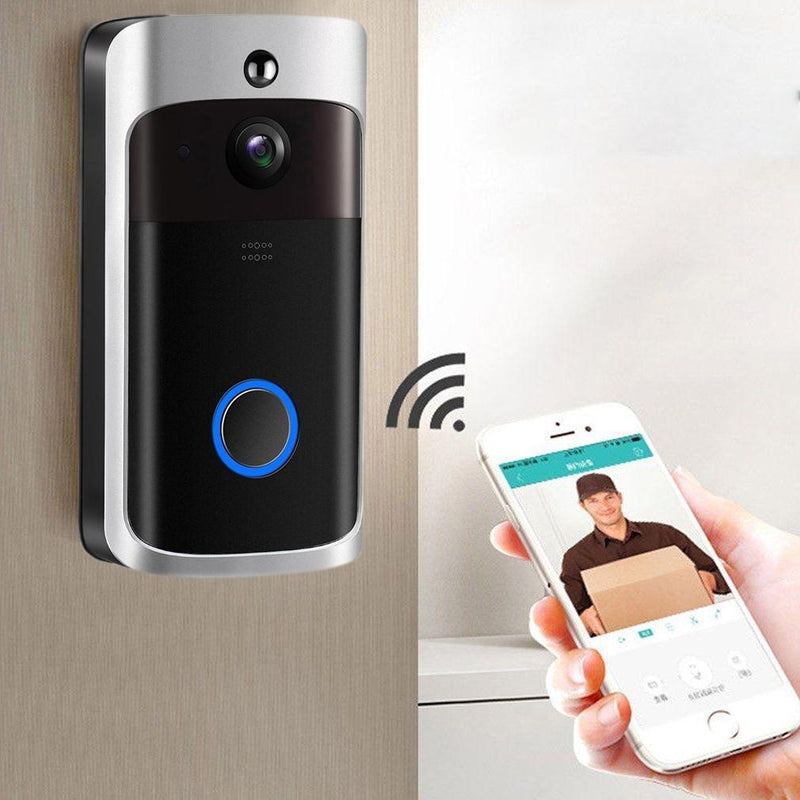 Wireless Video Doorbell 720 HD Wifi Security Camera Gadgets & Accessories - DailySale