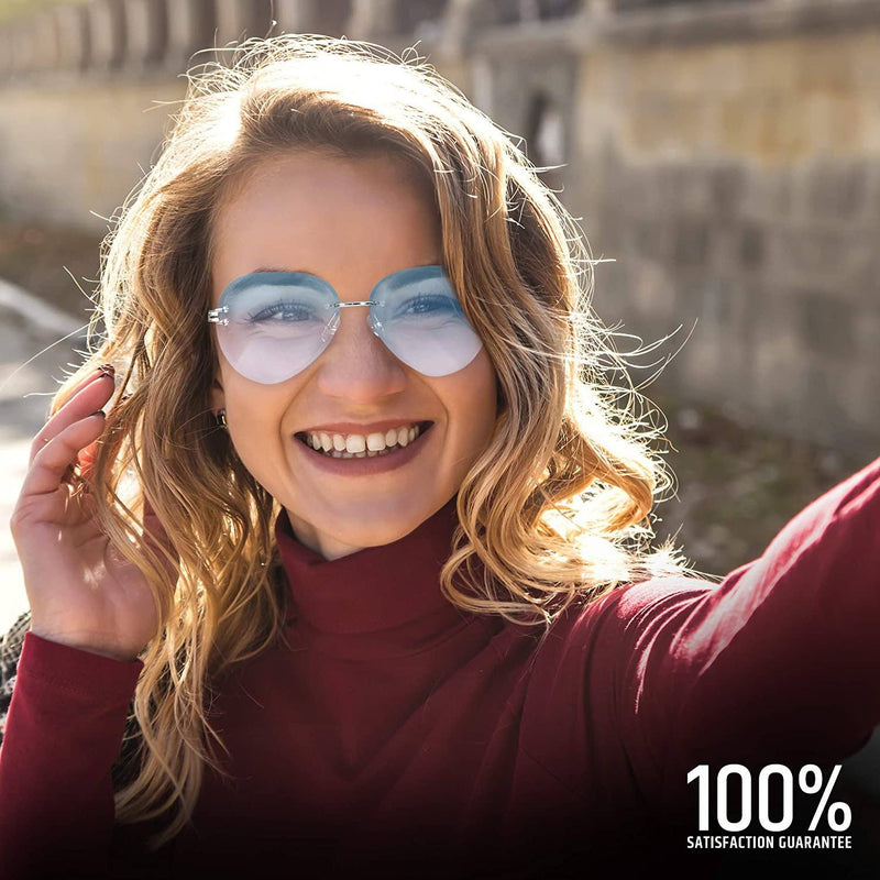 Women Aviation Polycarbonate UV 400 Sunglasses Sports & Outdoors - DailySale