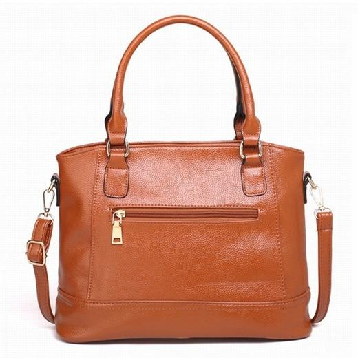 Women Fashion Genuine Leather Handbags Luxury Messenger Bags Bags & Travel Brown - DailySale