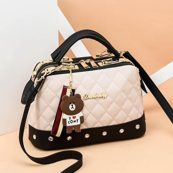 Women Leather Handbags Bag Women's Accessories White - DailySale