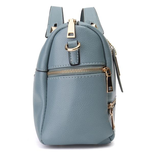Women PU Leather Tote Handbag Pillow Shoulder Crossbody Satchel Bag Bags & Travel - DailySale