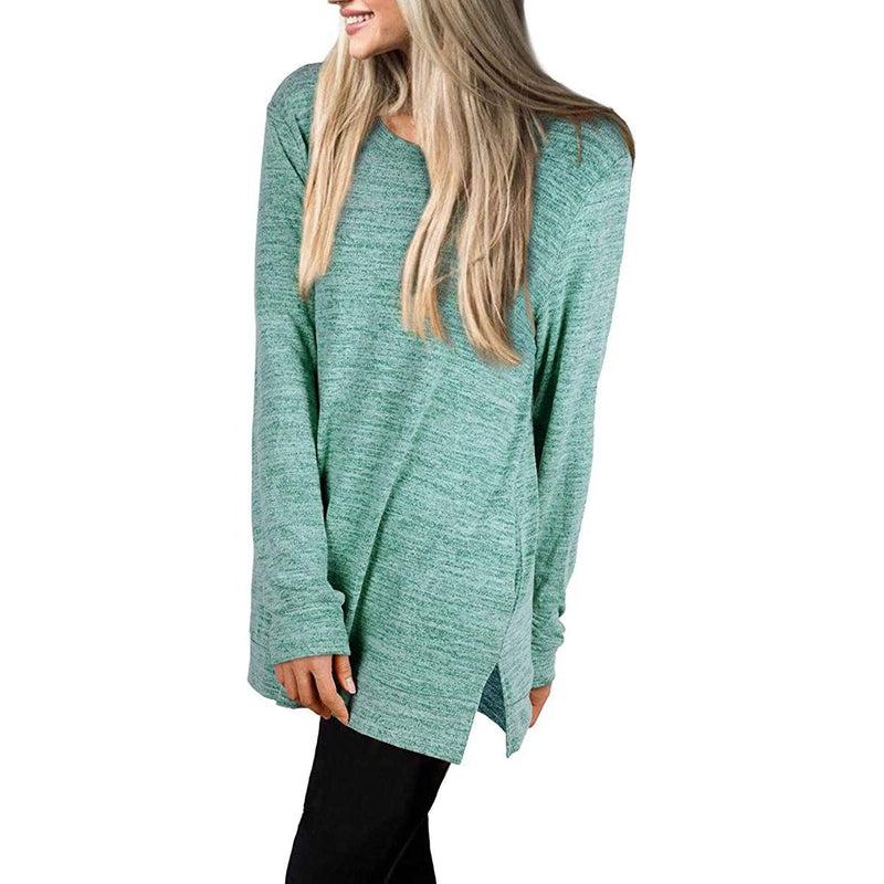 Women's Casual Sweatshirts Long Sleeve Oversized Shirt