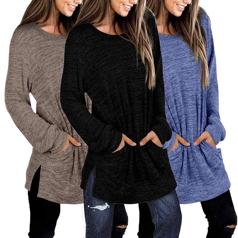 Women's Casual Sweatshirts Long Sleeve Oversized Shirt Women's Clothing - DailySale