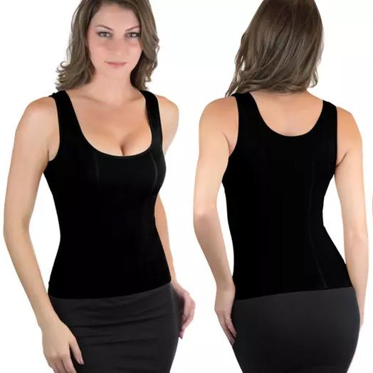 Women's Compression Smoothing Seamless Shaping Tank Women's Clothing S/M - DailySale