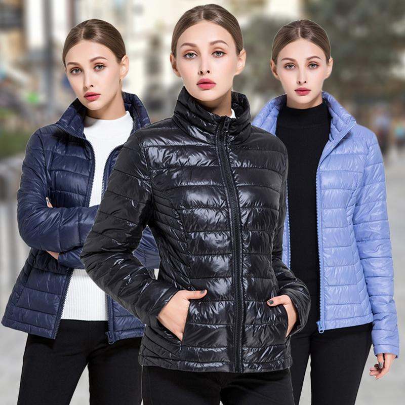 Women's Goose Down Lightweight Puffer Jacket Women's Apparel - DailySale