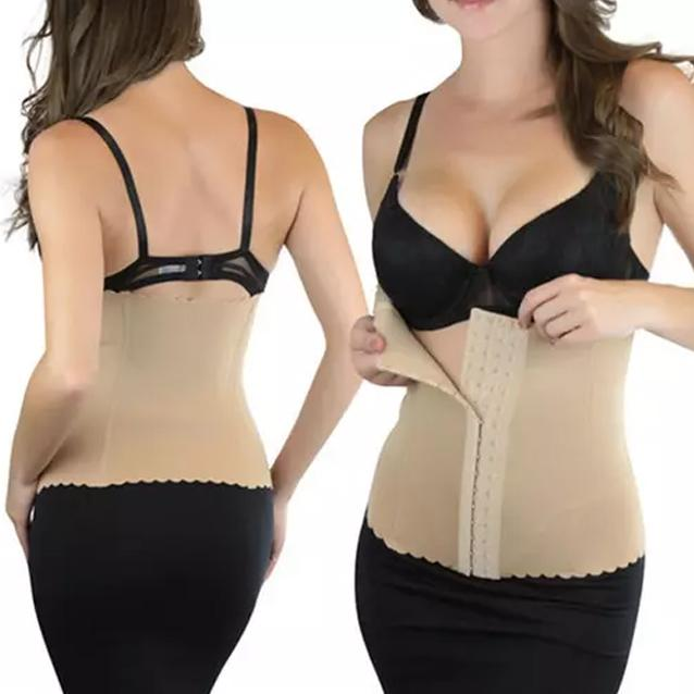 Women's High-Compression Thermal Waist Trainer Shaper Women's Clothing Beige S - DailySale