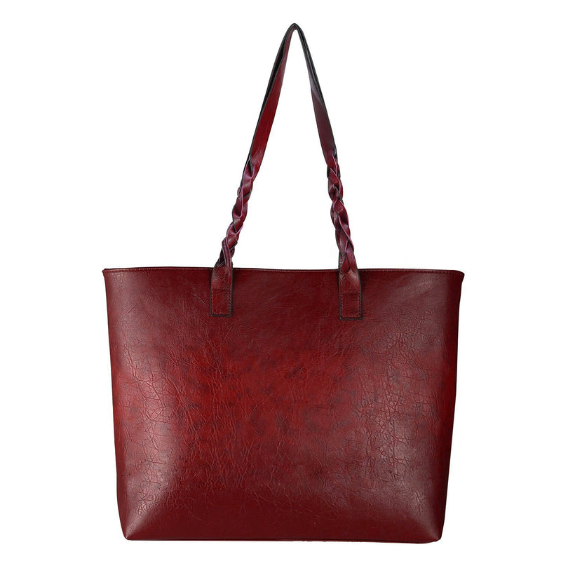 Women's Soft Leather Tote Bag