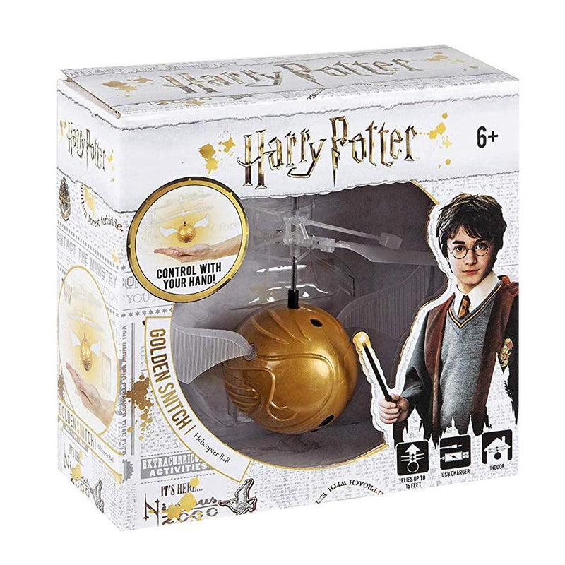 World Tech Toys Harry Potter Golden Snitch IR UFO Helium Ball Toys & Games - DailySale