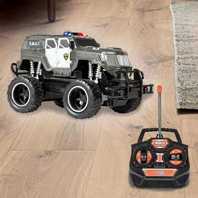 World Tech Toys S.W.A.T. 1:24 RTR Electric RC Monster Truck Toys & Games - DailySale