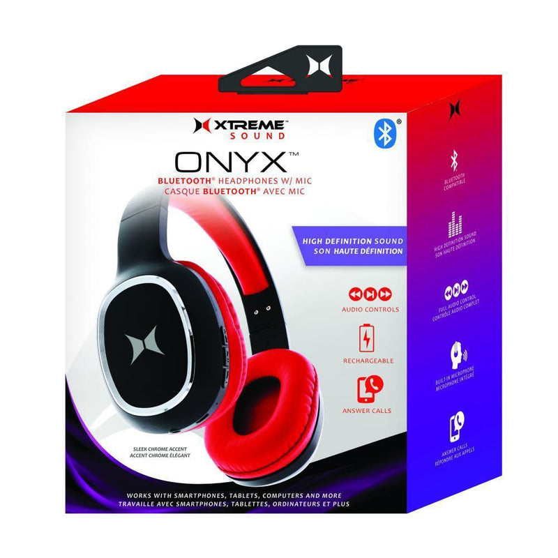 Xtreme Onlyx Stereo Bluetooth Headphones With Mic Headphones & Speakers - DailySale