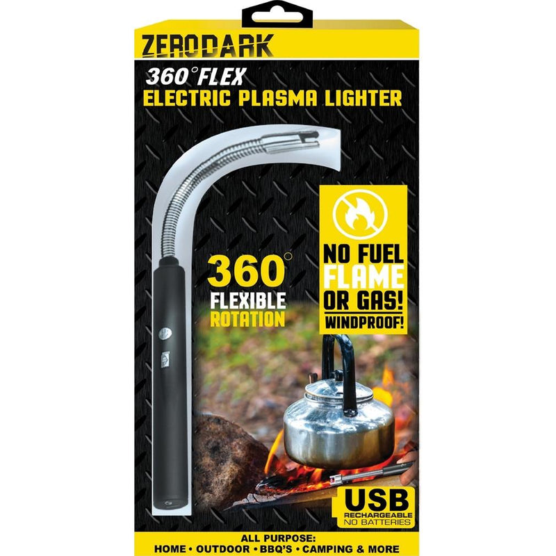 ZeroDark 360 Flex Electric Plasma Lighter Sports & Outdoors - DailySale