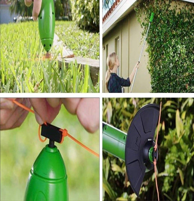 Zip Trim Cordless Edger Trimmer - Portable Garden Grass Trimmer Home Essentials - DailySale