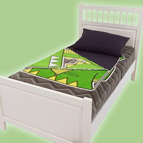 ZippySack Twin Size Bedding Solution with Zipper Closure