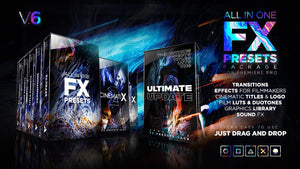 PACK FX PRESETS 2TB AFTER EFFECTS Y PREMIERE CC 2020