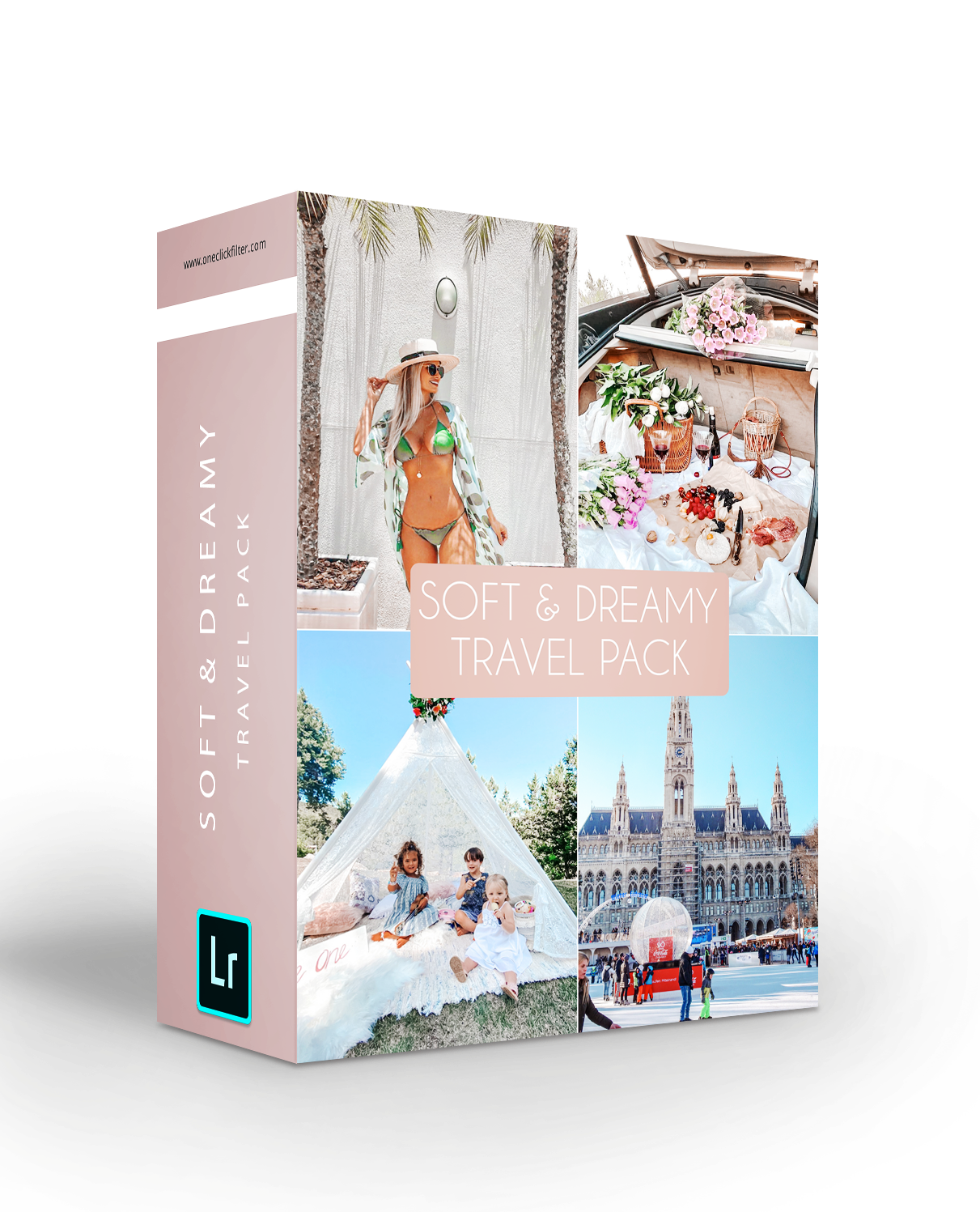 Soft & Dreamy Travel Pack - The Dreamy Photographer. One Click Filter Presets