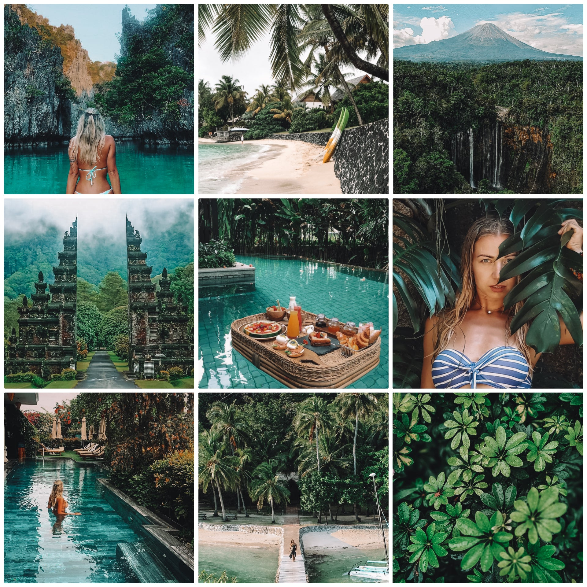 Bali - The Dreamy Photographer. One Click Filter Presets