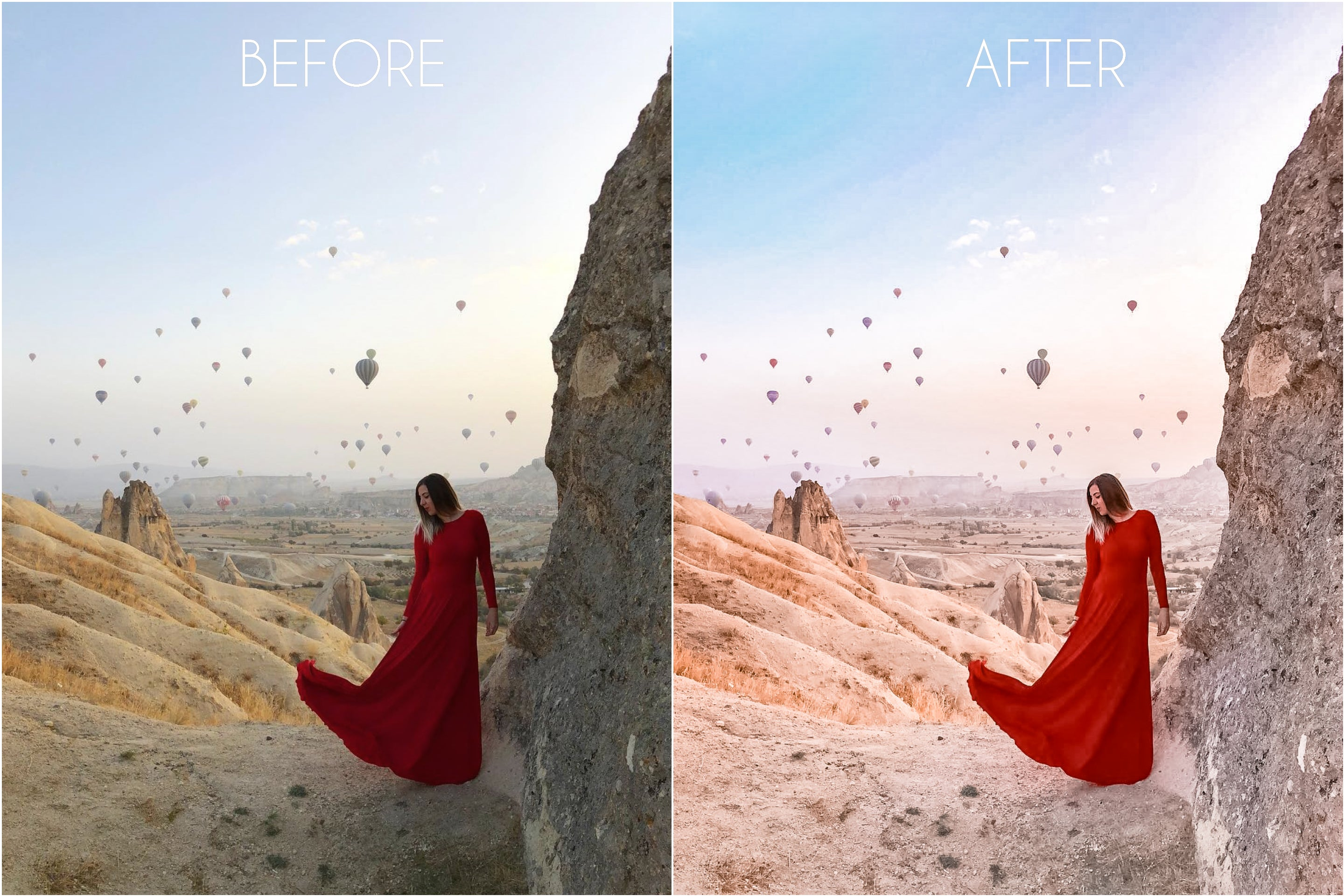 The Light & Dreamy Master Collection - The Dreamy Photographer. One Click Filter Presets