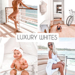 Luxury Whites - The Dreamy Photographer. One Click Filter Presets