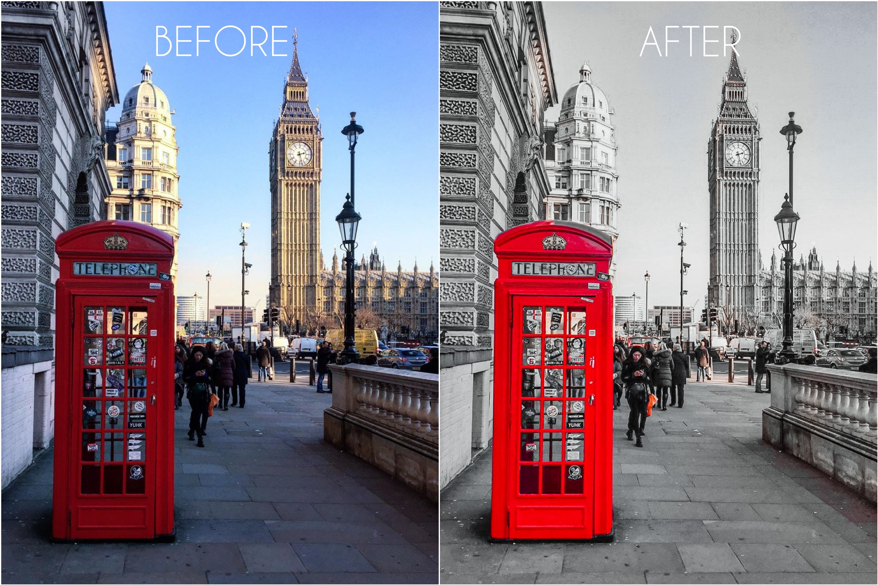 London - The Dreamy Photographer. One Click Filter Presets