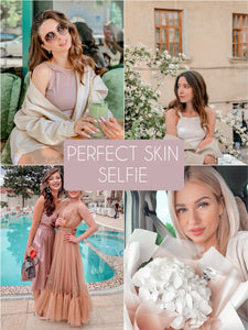 Perfect Skin Selfie Filter - The Dreamy Photographer. One Click Filter Presets