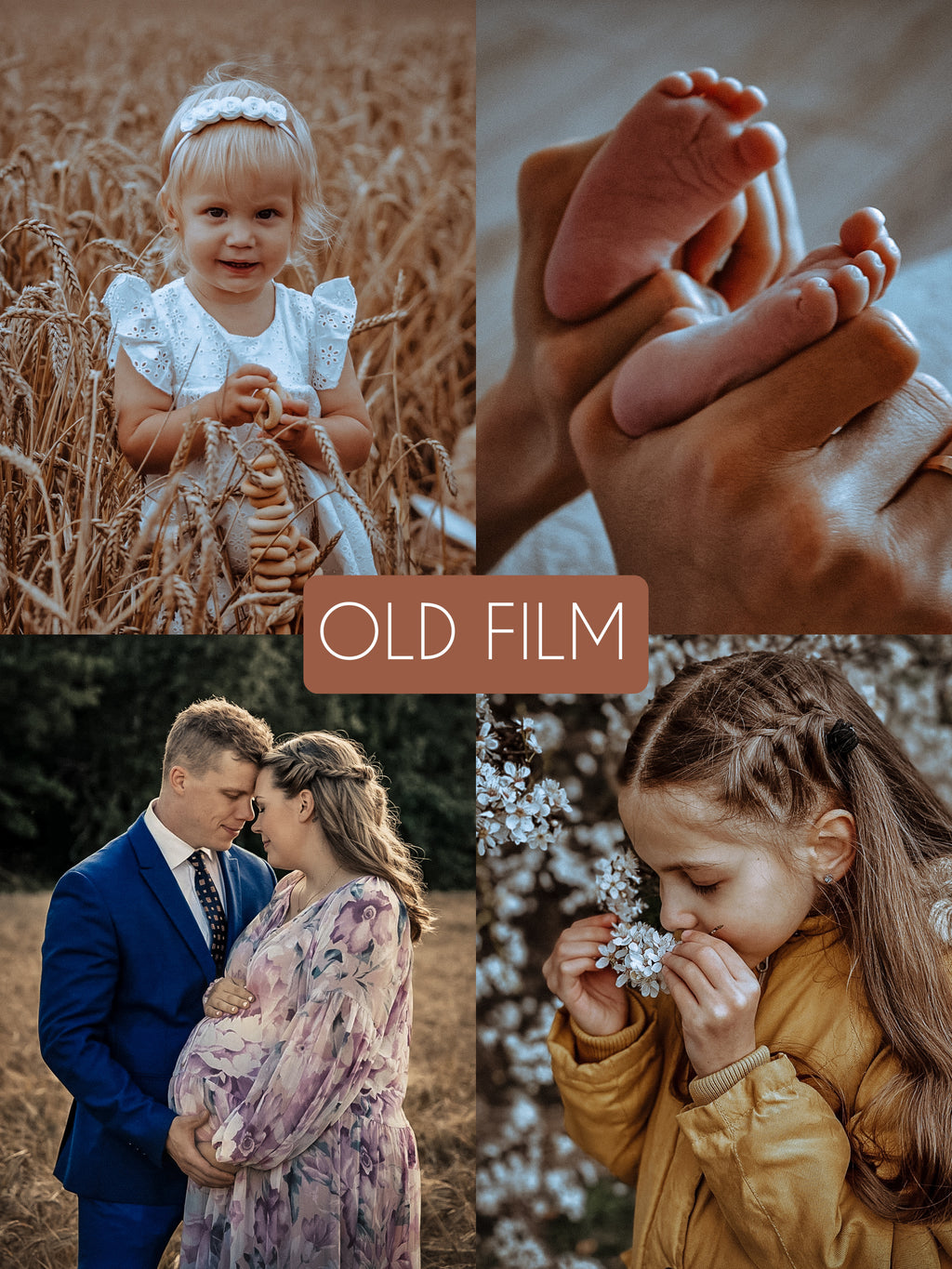 Old Film - The Dreamy Photographer. One Click Filter Presets
