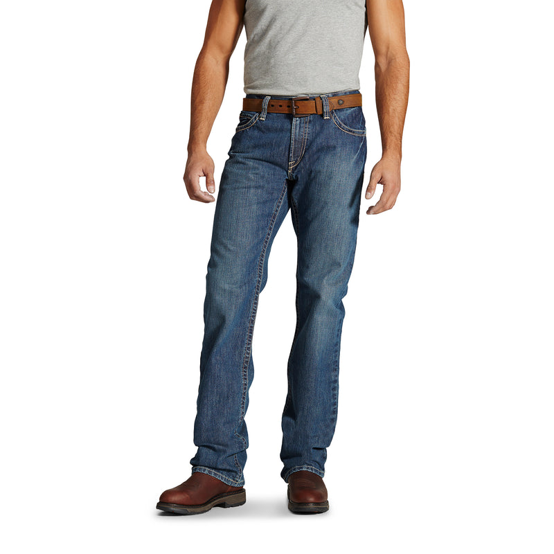New Ariat FR M4 Clay Boundary Boot Cut Jean