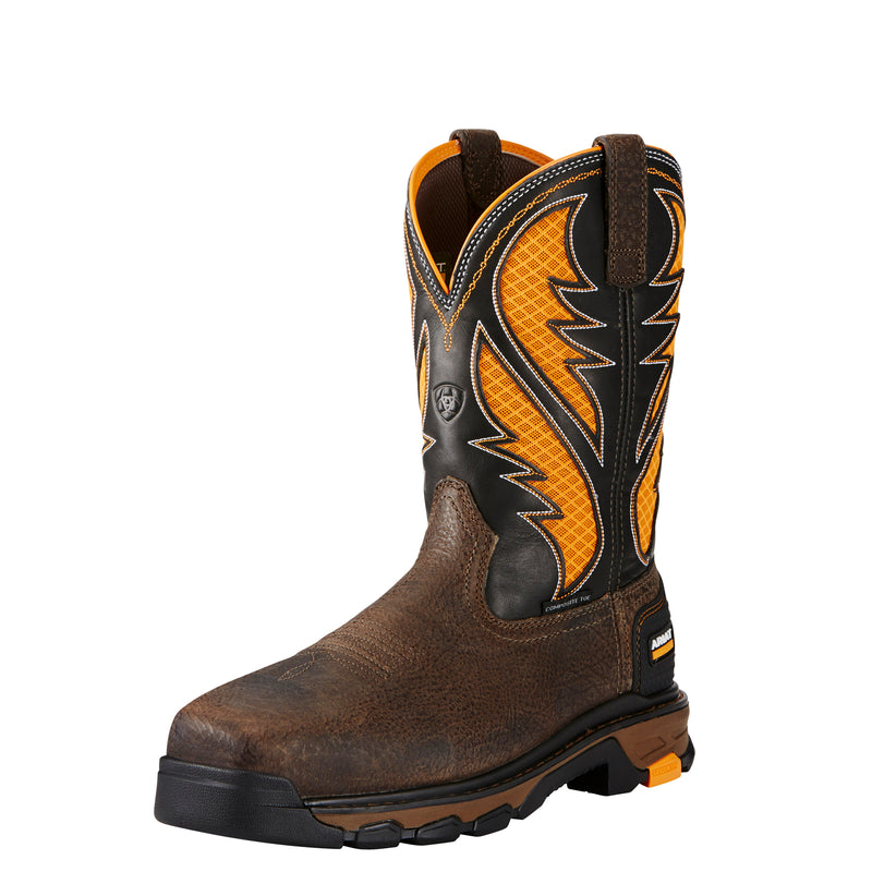 Men's Ariat Intrepid Venttek Comp Toe Boots 10020072 SIZE: 13 D COMES WITH FREE PACK OF SOCKS!