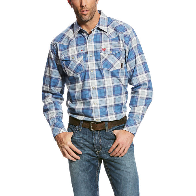 CLEARANCE ARIAT FR PERMIAN RETRO WORK SHIRT 10023965