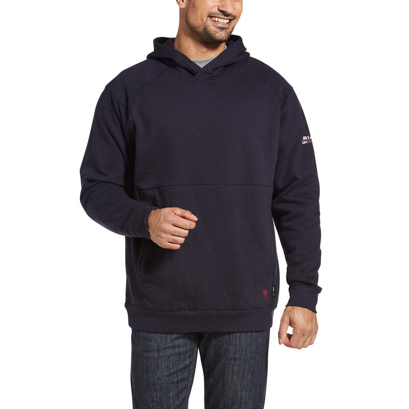 ***New! MEN'S ARIAT FR Rev Navy Pullover Hoodie 10032830
