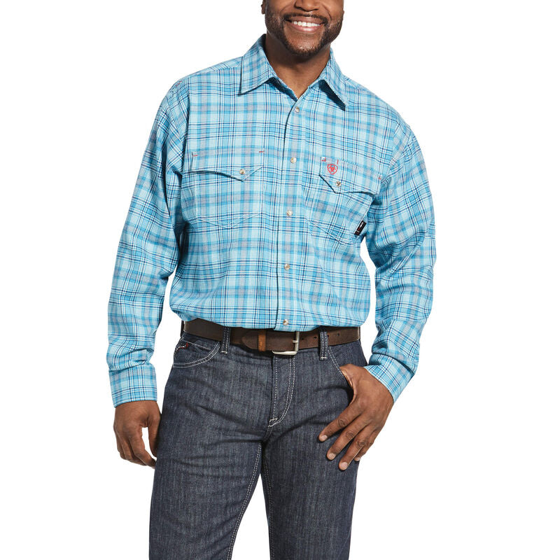 Men's Ariat FR fire retardant Dallas Snap Work Shirt 10033158