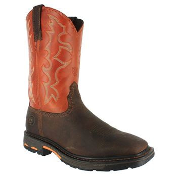 New Ariat Workhog Steel Toe Boots