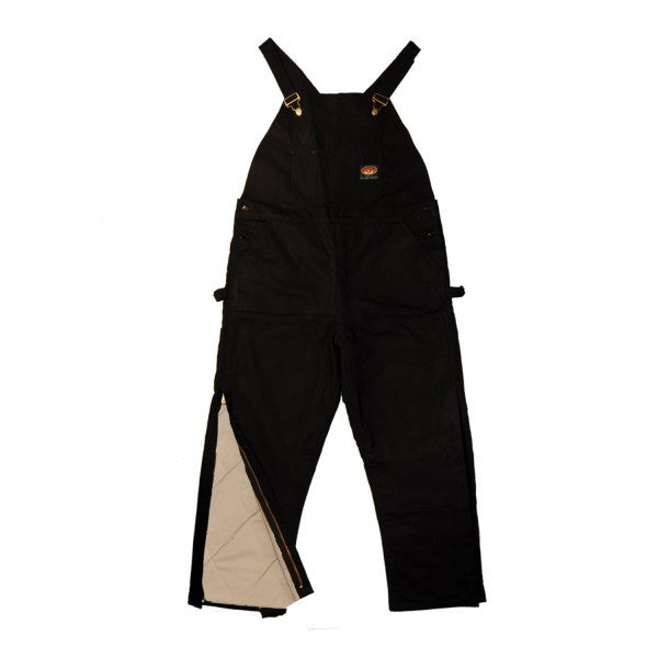 Rasco FR fire retardant INSULATED Black Duck Heavy Bib Overalls