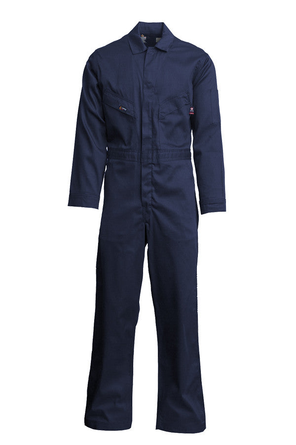 New Lapco FR 7 oz Deluxe Coverall 100% Cotton
